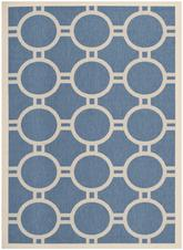 Safavieh Courtyard CY6924-243 Blue and Beige