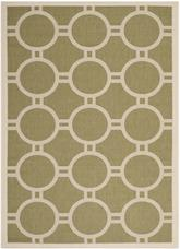 Safavieh Courtyard CY6924-244 Green and Beige