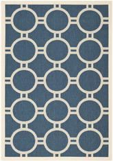 Safavieh Courtyard CY6924-268 Navy and Beige