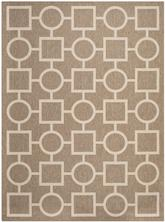 Safavieh Courtyard CY6925-242 Brown and Bone