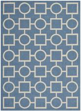 Safavieh Courtyard CY6925-243 Blue and Beige
