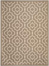 Safavieh Courtyard CY6926242 Brown and Bone