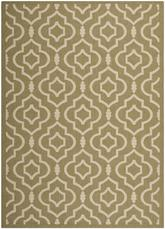 Safavieh Courtyard CY6926-244 Green and Beige