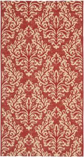 Safavieh Courtyard CY6930-28 Red and Creme