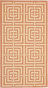 Safavieh Courtyard CY6937-21 Terracotta and Cream