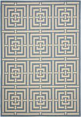 Safavieh Courtyard CY6937-23 Blue and Bone