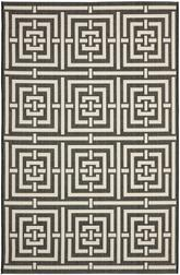 Safavieh Courtyard CY6937-26 Black and Bone