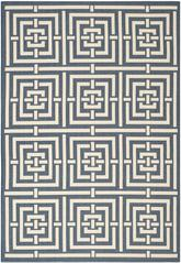 Safavieh Courtyard CY6937-268 Navy and Beige
