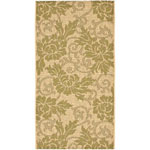 Safavieh Courtyard CY695714 Cream and Green