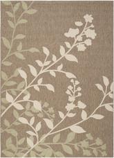 Safavieh Courtyard CY7019-242 Brown and Beige