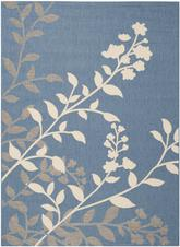 Safavieh Courtyard CY7019-243 Blue and Beige
