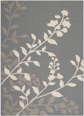 Safavieh Courtyard CY7019-246 Anthracite and Beige