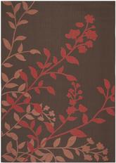 Safavieh Courtyard CY7019-303 Chocolate and Red