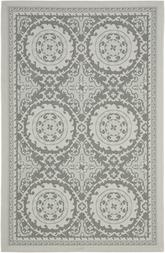 Safavieh Courtyard CY7059-78A18 Light Grey and Anthracite