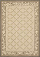 Safavieh Courtyard CY7107-79A21 Beige and Dark Beig