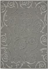 Safavieh Courtyard CY7108-87A5 Anthracite and Light Grey