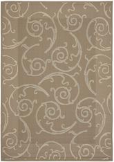 Safavieh Courtyard CY7108-97A18 Dark Beig and Beige