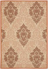 Safavieh Courtyard CY7133-11A7 Cream and Terracotta