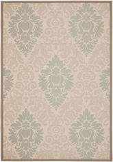 Safavieh Courtyard CY7133-79A18 Beige and Dark Beig