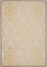 Safavieh Courtyard CY7133-79A21 Beige and Dark Beig