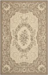 Safavieh Courtyard CY7208-12A5 Creme and Brown