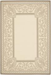 Safavieh Courtyard CY7514-79A18 Beige and Dark Beig