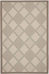 Safavieh Courtyard CY7570-79A18 Beige and Dark Beig