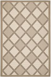 Safavieh Courtyard CY7570-79A7 Beige and Dark Beig
