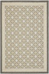 Safavieh Courtyard CY7810-87A21 Anthracite and Light Grey