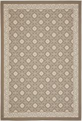 Safavieh Courtyard CY7810-97A18 Dark Beig and Beige