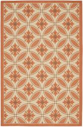 Safavieh Courtyard CY7844-11A7 Cream and Terracotta