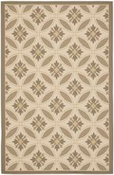 Safavieh Courtyard CY7844-79A21 Beige and Dark Beig