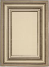 Safavieh Courtyard CY789679A7 Beige and Dark Beig