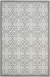 Safavieh Courtyard CY7931-78A18 Light Grey and Anthracite
