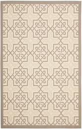 Safavieh Courtyard CY7931-79A21 Beige and Dark Beig