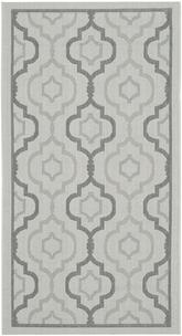 Safavieh Courtyard CY7938-78A18 Light Grey and Anthracite