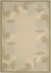 Safavieh Courtyard CY7945-14A18 Cream and Green