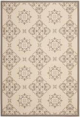 Safavieh Courtyard CY7978-79A21 Beige and Dark Beig