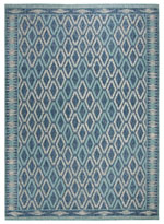 Safavieh Courtyard CY853139421 Navy and Aqua