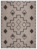 Safavieh Courtyard CY853337612 Grey and Black