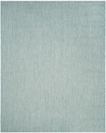Safavieh Courtyard CY865337121 Light Blue and Light Grey