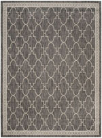 Safavieh Courtyard CY887136621 Black and Beige