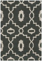 Safavieh Dhurries DHU205C Chocolate and Ivory