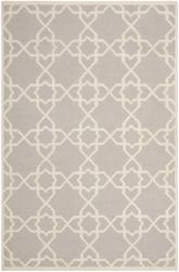 Safavieh Dhurries DHU548G Grey and Ivory