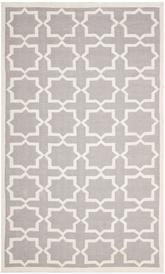 Safavieh Dhurries DHU549G Grey and Ivory