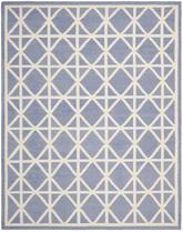 Safavieh Dhurries DHU558B Purple and Ivory