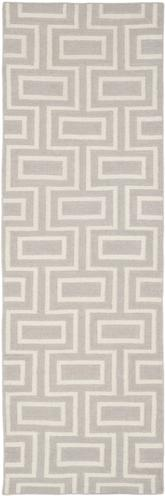 Safavieh Dhurries DHU562B Grey and Ivory