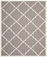 Safavieh Dhurries DHU567A Grey and Ivory