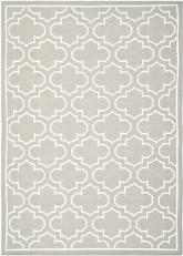 Safavieh Dhurries DHU625B Grey and Ivory