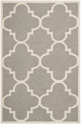 Safavieh Dhurries DHU633B Grey and Ivory